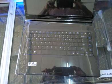 laptop acer i3 ram 4GB  garansi 6bulan ready printer