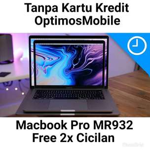 Tanpa CC Kredit Macbook Pro MR932-2018 New 256GB/16B