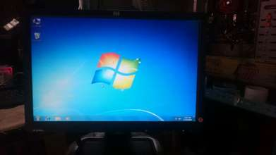 "jual lcd Hp 19"" wide"
