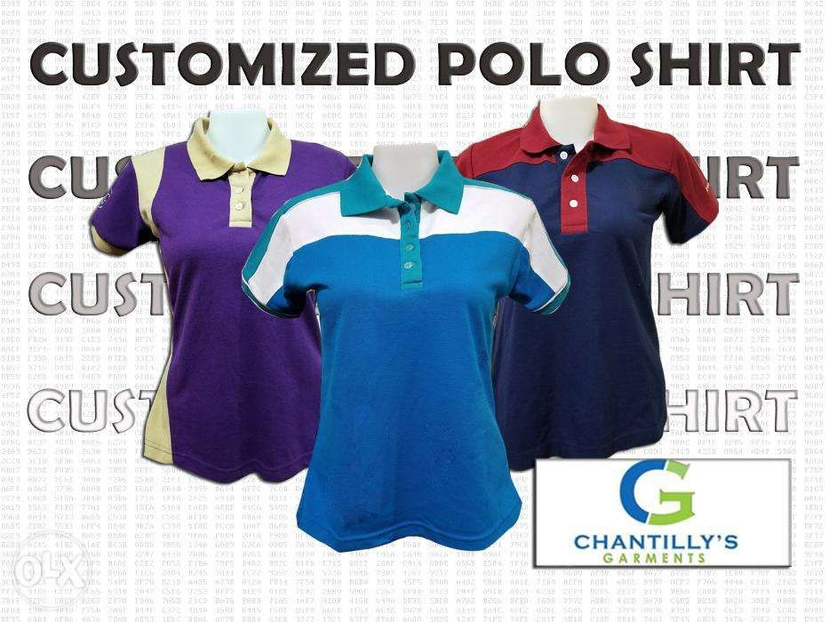 f58afc419 Customized Polo Shirt with Embroidery in Quezon City, Metro Manila ...