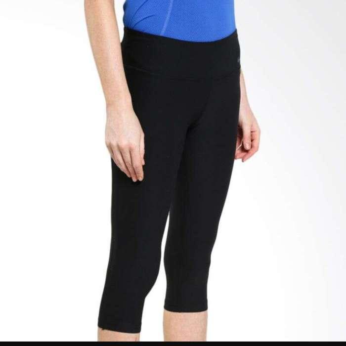 ORIGINAL Nike Sport Legging Wanita Female Hitam Olahraga Fitness ...