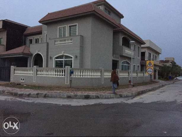 1kanal brand new Ground portion4rent in bahria town rwp
