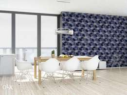 Genuine 3D look for wall covering Wallpaper
