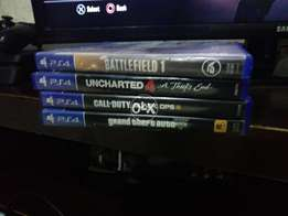 Ps4 With 4 games Read description
