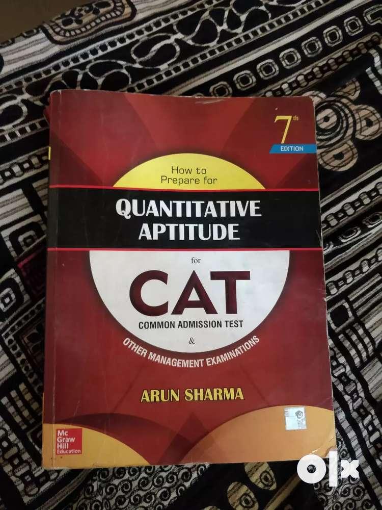 Arun Sharma Quantitative Book