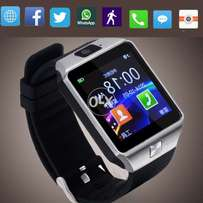 Android Smart Watch BLACK DZ09 With GSM Slot Bluetooth For IOS And And