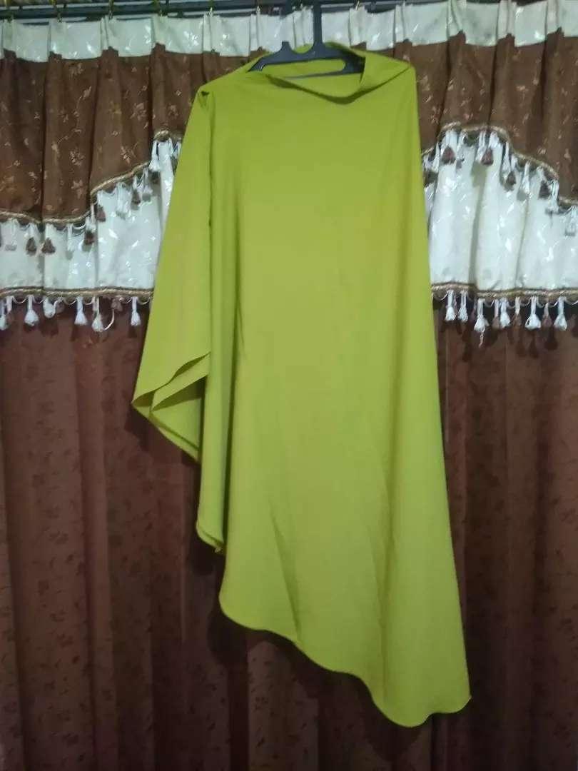 Khimar Non Pet Warna Lime Fashion Wanita 791959439