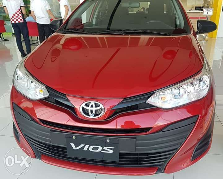 All New 2019 Toyota Vios XE CVT All In Promo in Makati ...