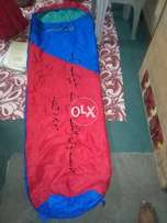 Branded sleeping bags available in different sizes and colors large qu