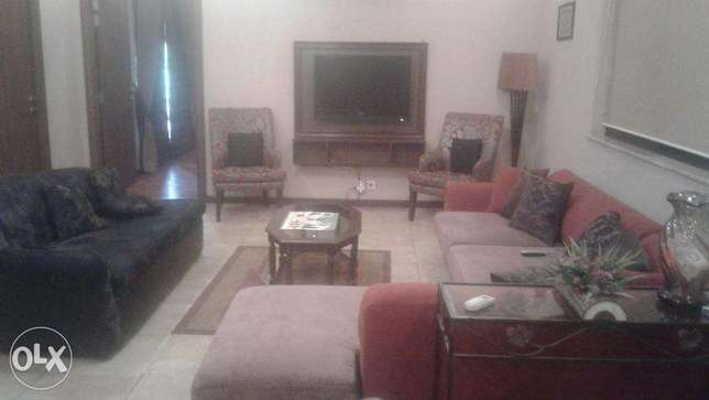 furnished, upper portion , phase 2 ,available for short time and long