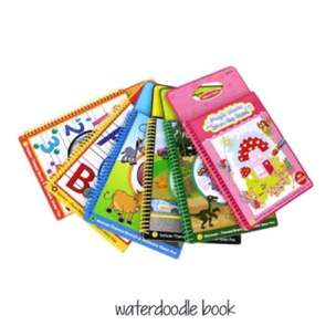 water doodle book animal