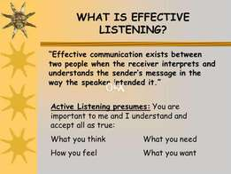 Improve YOUR communication for better organization HIRE ME !!!