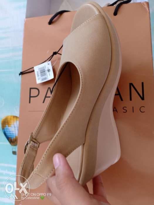 527087f52 Parisian wedge sandals nude beige in Parañaque, Metro Manila (NCR ...