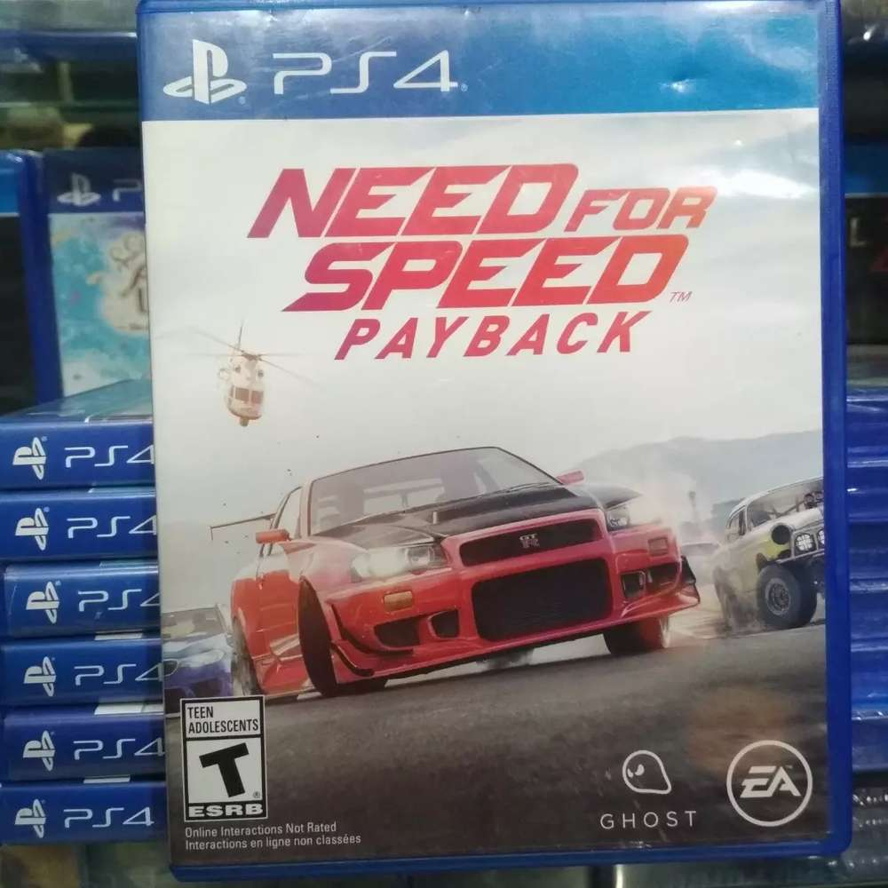Bd Sony Ps4 Nfs Payback Need For Speed Payback Games Console 806540640