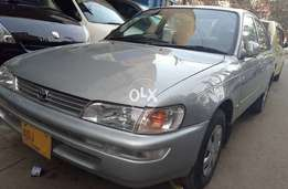 INDUS Corolla XEG 2001 Silver CNG Outside Showered Inside All Original