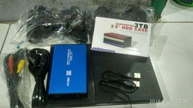 ps2 slim hardisk 250gb scond rasa baru