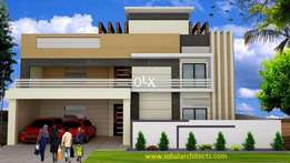Brand New House For Sale In Bahria Town Phase 4 Outclass Location