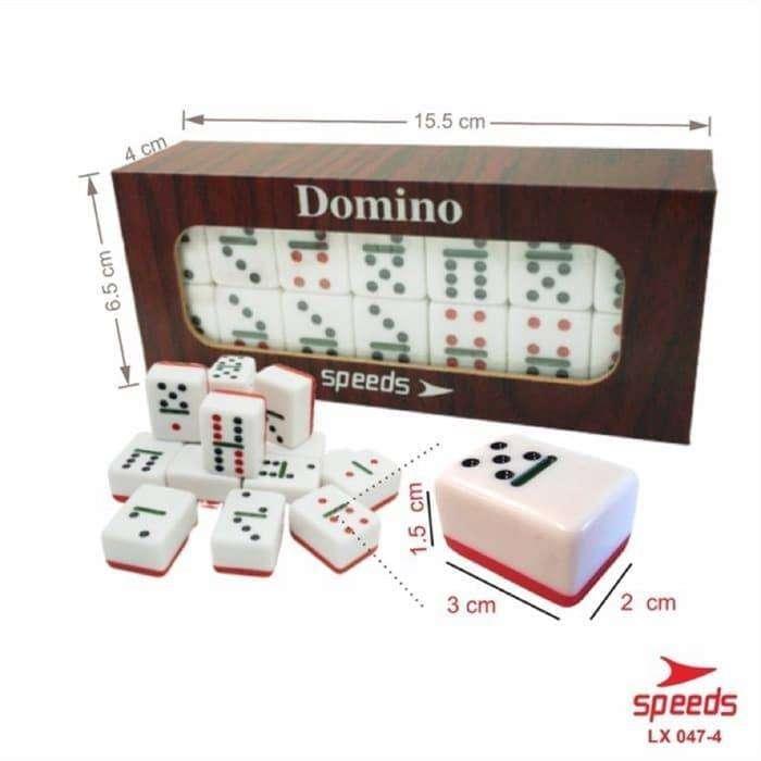 Set Game Domino Batu Set Balok Tebal Gaple Qq Kartu Box Kayu 047 4 Boneka Mainan Anak 783016796