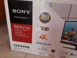 curved model sony bravia led tv 32inch