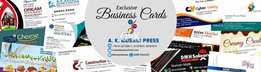 All types of visiting cards and all types of Printing - Printing press