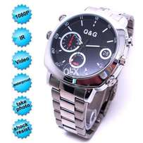 Camera sliver watch attractive working capacity now avail