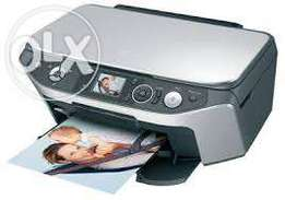 Epson Stylus RX585 All-in-One High Quality Photo Printer new conditon