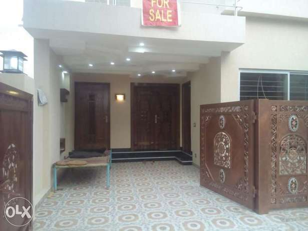 5 Marla Double Unit Brand New Vip House At Hot Location Bahria Town