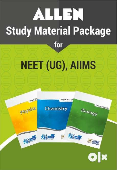 2019Allen all test series notes crash course study package - Books