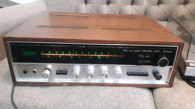 stereo tuner amplifier Sansui 2000X japan