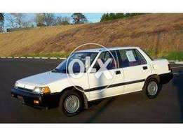 Mind Blowing Honda Civic 87 Good Condition at Surprising Price,150 Lac