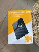 WD My Passport 2TB External USB 3.0 Portable Hard Drive (Box Packed)