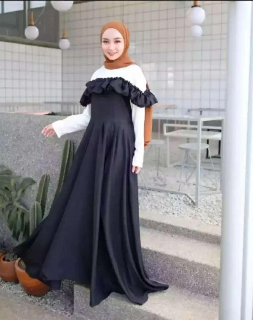 Gamis Sabrina Mewah Fashion Wanita 804946370