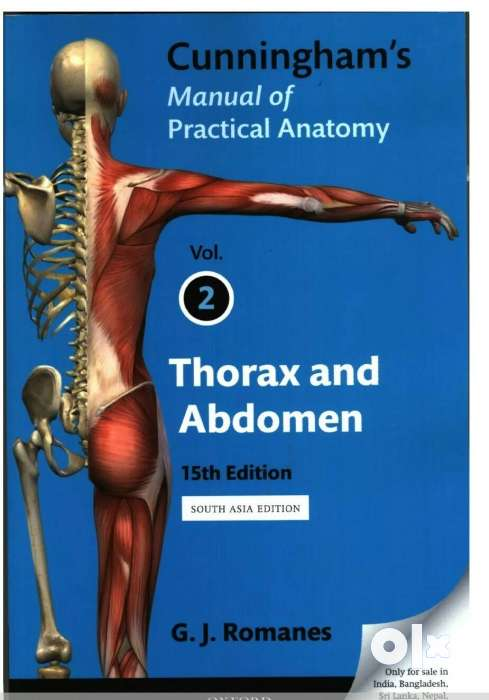 Cunningham 3 Medical books of Anatomy(For 1st year MBBS,BDS,Bpth ...