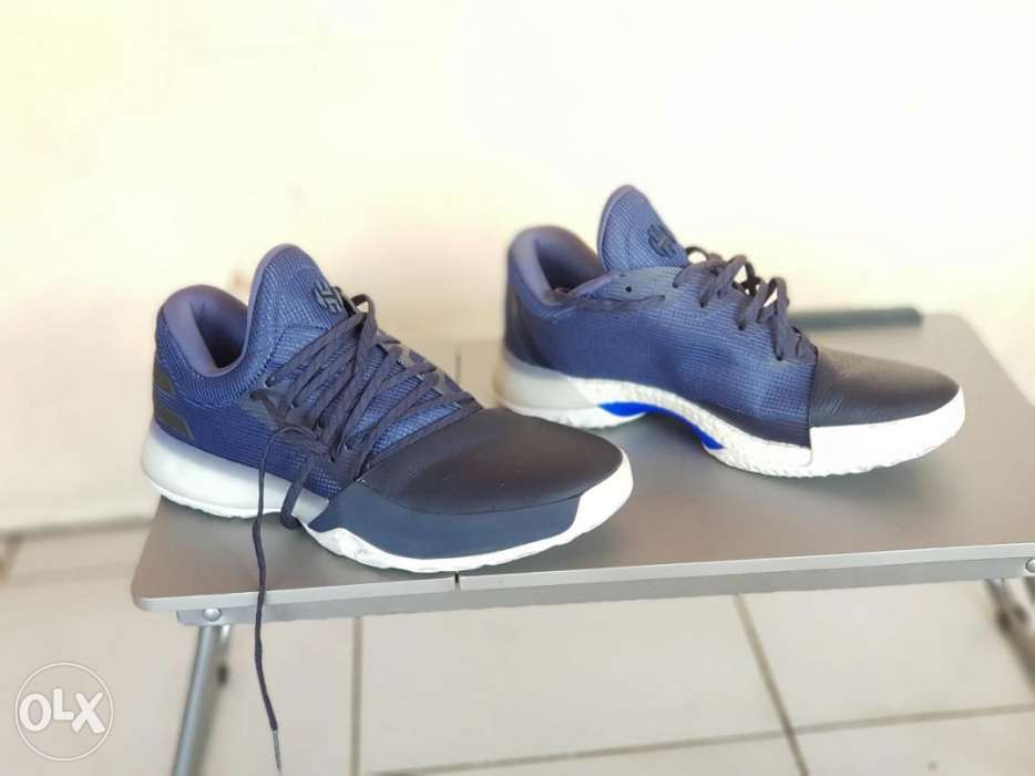 3e1f87236b5 Adidas James harden basketball shoes not nike not jordan and1 in ...