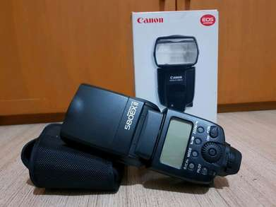 cannon Flash 580 EX II