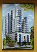 3bed Under construction project near the forum mall block 9 clifton ka
