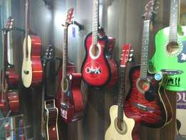 Imported guitar collection