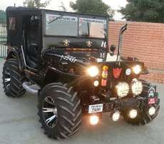My Work Open Modified Willys Jeeps.. our workshop