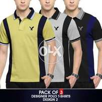 Pack Of 3 Ralph lauren new style t shirts.
