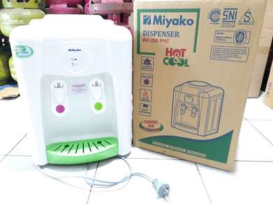 antar dispenser hot cool 289hc miyako dispenser - panas dingin