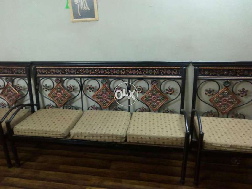 Tremendous Iron Rod Sofa Set With Glass Ironic Dinning Table Iron Rod Bed Unemploymentrelief Wooden Chair Designs For Living Room Unemploymentrelieforg