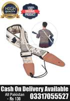 Guitar Strap Belt Printed High Quality Synthetic Leather