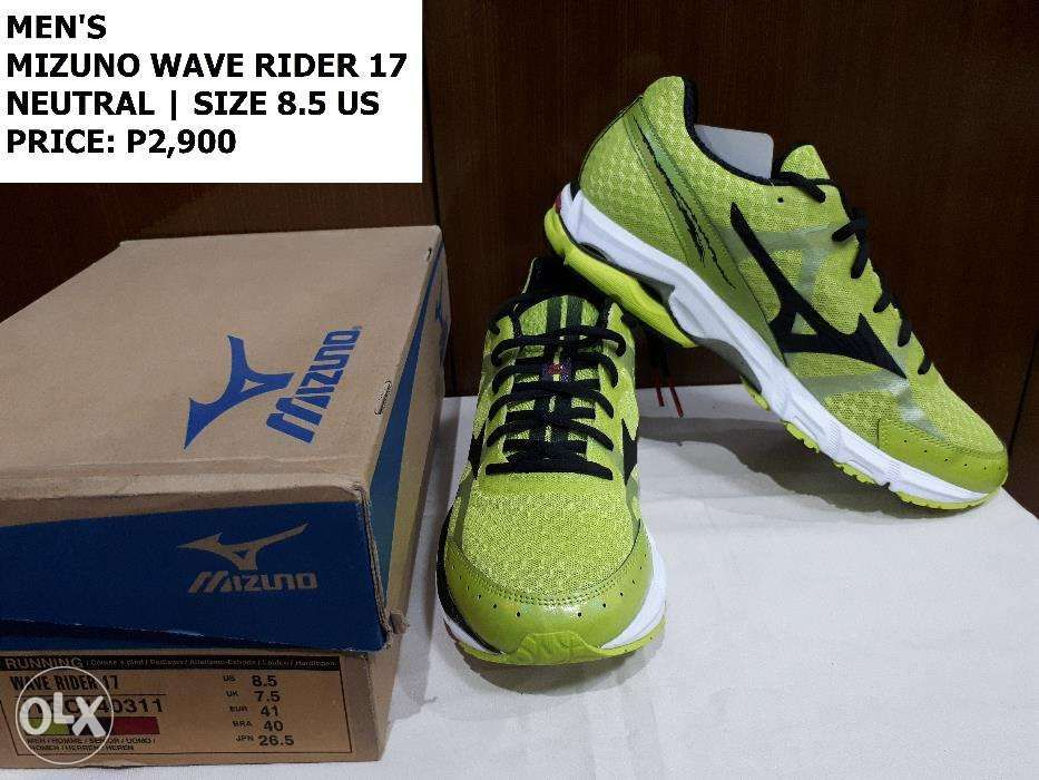 595d1672b Brand New Mizuno Wave Rider 17 Running Shoes Men s Size 8.5 in ...
