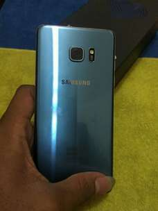 samsung note FE blue koral mulus super