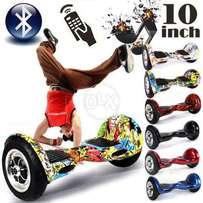 Smart wheel balance 10 inch with Bluetooth speakers remote