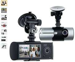 """Vehicle Mounted"" DVR Dual LENS with GPS (Lahore) Camera"