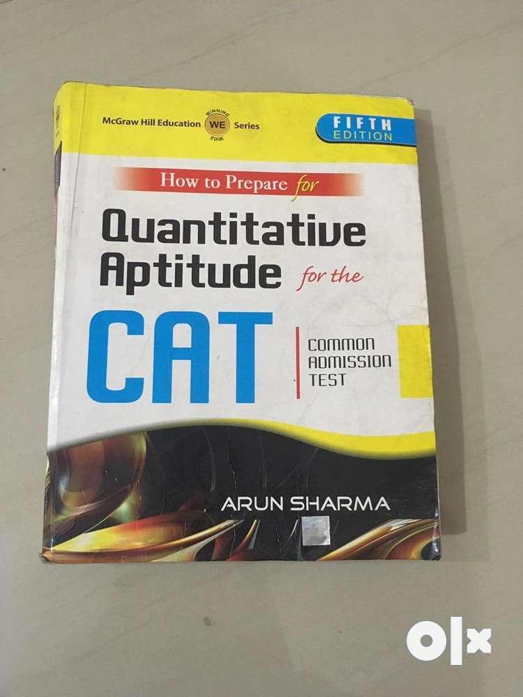 Arun Sharma Quantitative Aptitude Book For Cat
