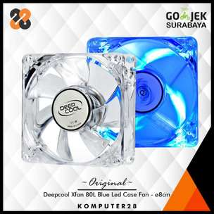 Deepcool Xfan 80L Led Case Fan 8cm - Kipas CPU