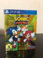 Sonic Mania Plus 2018 Ps4 With New Encore Dlc Brand New Limited Editio