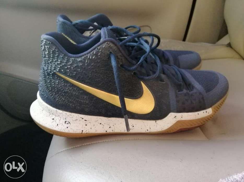 ce782ee294 Nike kyrie 3 obsidian basketball shoes size 10.5 kobe lebron kd curry ...